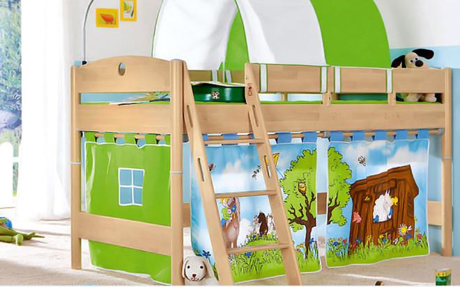 adırlı-Çocuk-Ranza-Tasarımı Yeni Trend Çadırlı Ranza Modelleri