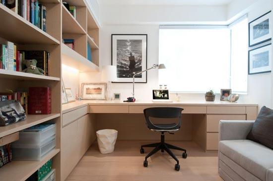alışma-Köşesi-Mobilya-Düzeni Evlerde Çalışma Köşesi Mobilyaları