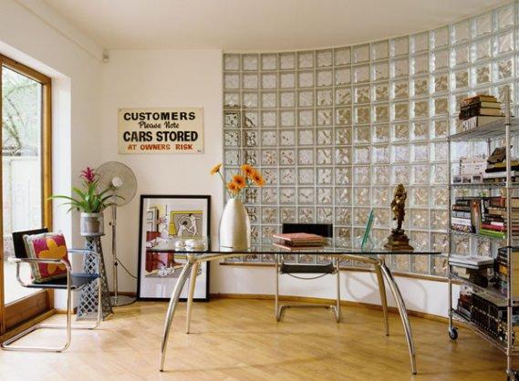 alışma-odası-cam-tuğla-uygulaması Cam Tuğla Modelleri