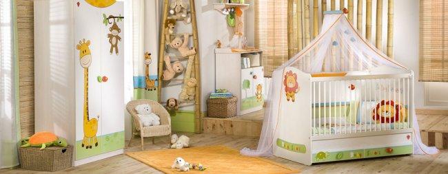 Çilek Baby Safari Bebek Odası
