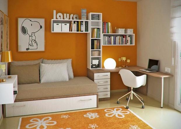 ocuk-Odası-Çalışma-Köşesi-Mobilyası Evlerde Çalışma Köşesi Mobilyaları