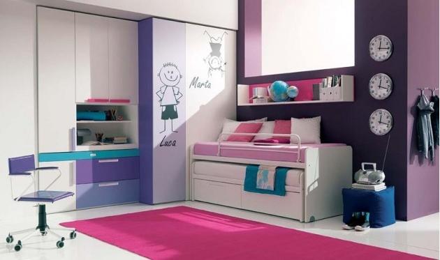 ocuk-Odası-İçin-Çalışma-Köşesi-Mobilya-Dekoru Evlerde Çalışma Köşesi Mobilyaları