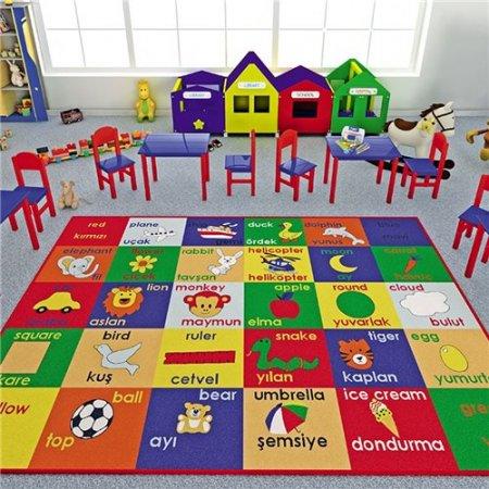 ocuk-Odası-Oyun-Halısı Çocuk Odası Halı Modelleri
