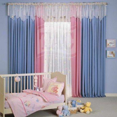 ok-Güzel-Bebek-Odası-Perdesi Bebek Odası Perde Modelleri