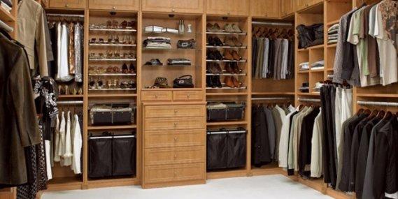 Özel Kıyafet Odası Tasarımı