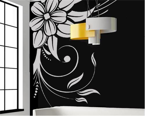 içek-şekliden-duvar-sticker Modern Duvar Stickerları