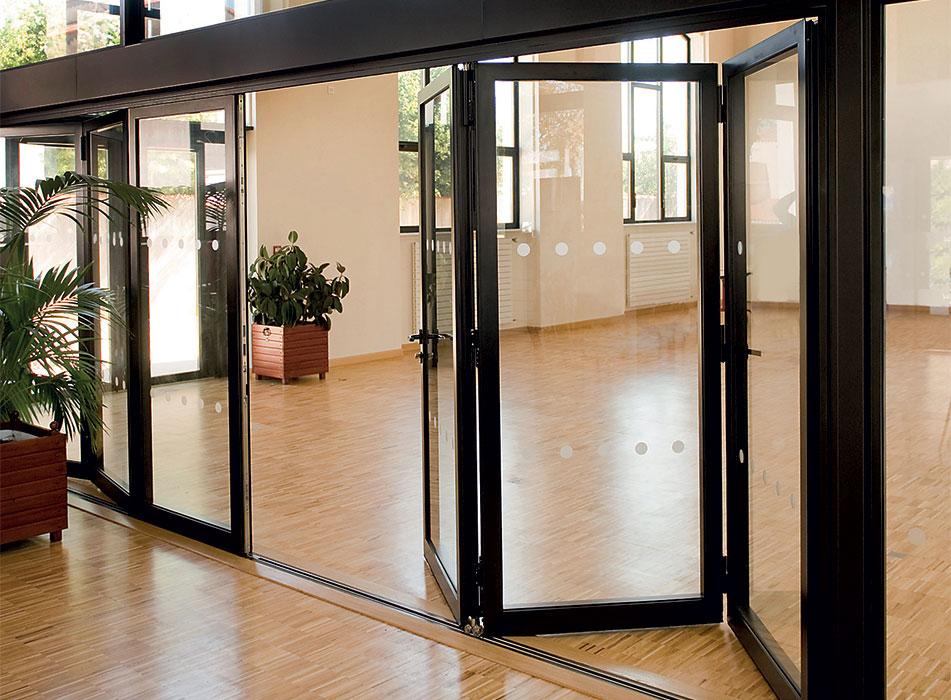 -Mekan-Aluminyum-Katlanır-Kapı Katlanır Kapı Modelleri