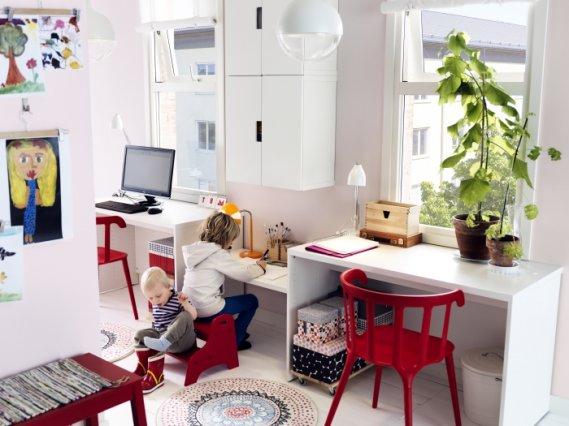 İkea Çocuk Çalışma Masası Modeli - Kolay Dekor