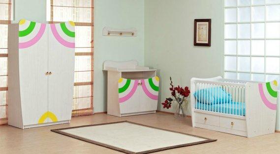 İpek Bebek Odası Modeli