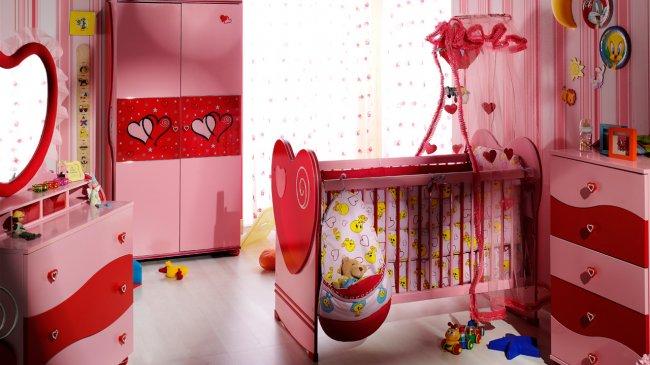 stikbal-Prenses-Bebek-Odası-Modeli İstikbal Bebek Odası Takımları