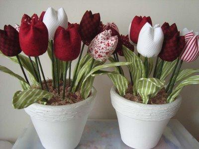 k-Masa-Üstü-Yapma-Çiçekler Yapma Çiçek Modelleri