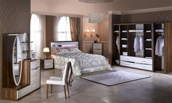 Şık Mondi Yatak Odası Takımı