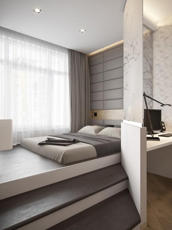 Beautiful Küçük stüdyo daireler için akıllı Akıllı Dekorasyon fikirleri