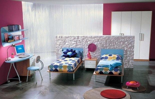 amazing-iki-kisilik-genc-odasi-dekorasyonu-genc-oda-dekorasyonunda-dikkat-edilmesi-gerekenler-14 Genç oda dekorasyonunda dikkat edilmesi gerekenler