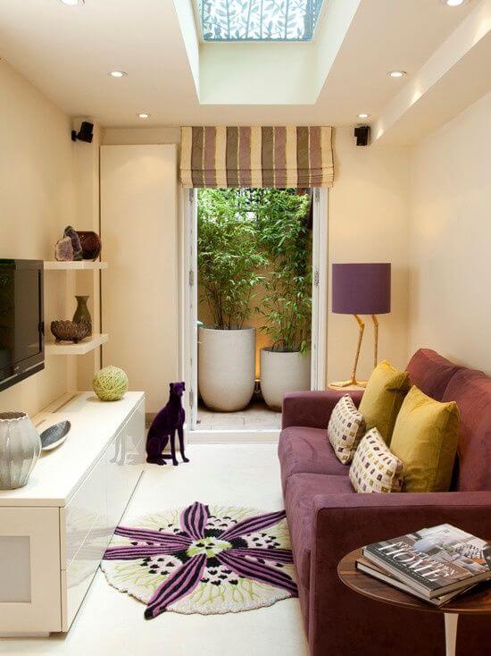 amazing-uzun-ve-dar-oturma-odasi-kucuk-misafir-odalari-icin-dekorasyon-8 Küçük misafir odaları için dekorasyon
