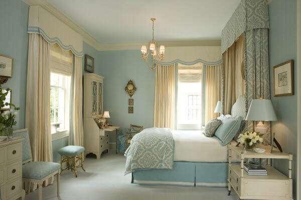 beautiful-bej-rengi-yatak-odasi-perde-modelleri-yatak-odasi-nasil-duzenlenmeli-24 Yatak odası nasıl düzenlenmeli