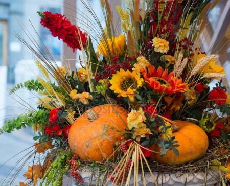 beautiful-sonbahar-dekorasyon-buket-bitkiler-ve-bitkilerle-sonbahar-dekorasyonu-23 Bitkilerle sonbahar dekorasyonu