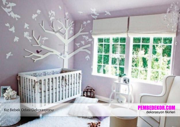 best-mor-kiz-bebek-odasi-dekorasyonu-bebek-odasi-dekorasyonu-17 Bebek odası dekorasyonu