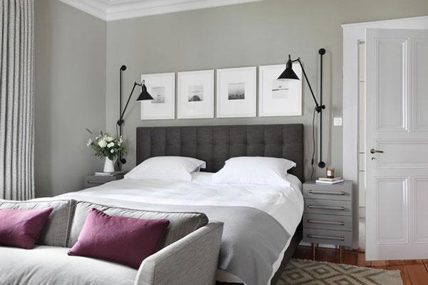 chic-gri-bir-yatak-odasi-dekorasyonu-yatak-odasi-dekorasyonu-9 yatak odası dekorasyonu