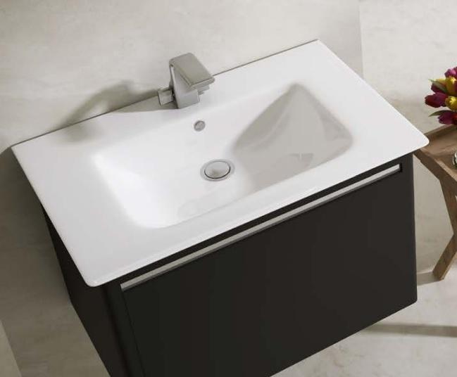 contemporary-sharp-70-cm-lavabo-mini-lavabo-tasarimlari-4 Küçük Banyolar İçin Büyüleyici Mini Lavabo Tasarımları