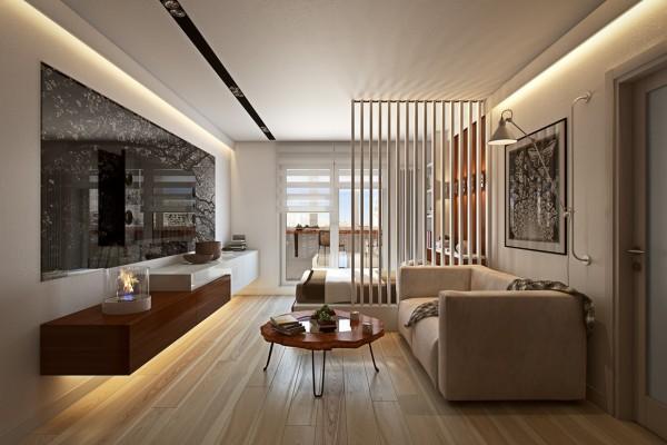 cozy-studyo-daire-modern-salonlar-akilli-dekorasyon-fikirleri-16 Akıllı Dekorasyon fikirleri