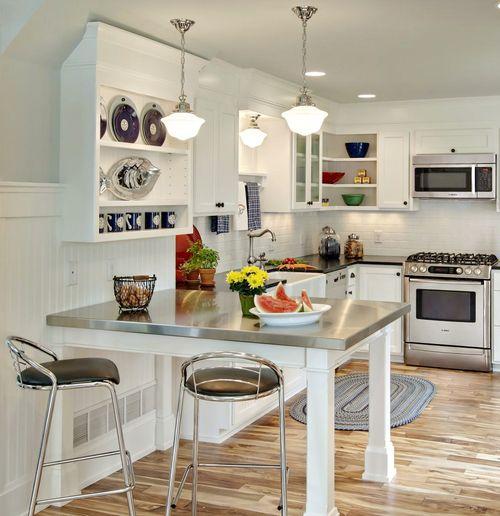 elegant-beyaz-mutfak-dekorasyonu-ornekleri-beyaz-mutfak-dekorasyonu-25 beyaz mutfak dekorasyonu