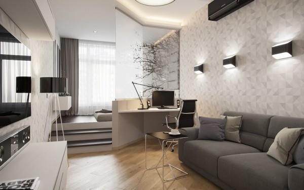 elegant-studyo-daireler-akilli-dekorasyon-fikirleri-10 Akıllı Dekorasyon fikirleri