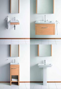 ideas-of-duravit-u0027in-diger-kucuk-lavabo-seceneklerinden-mini-lavabo-tasarimlari-6 Küçük Banyolar İçin Büyüleyici Mini Lavabo Tasarımları