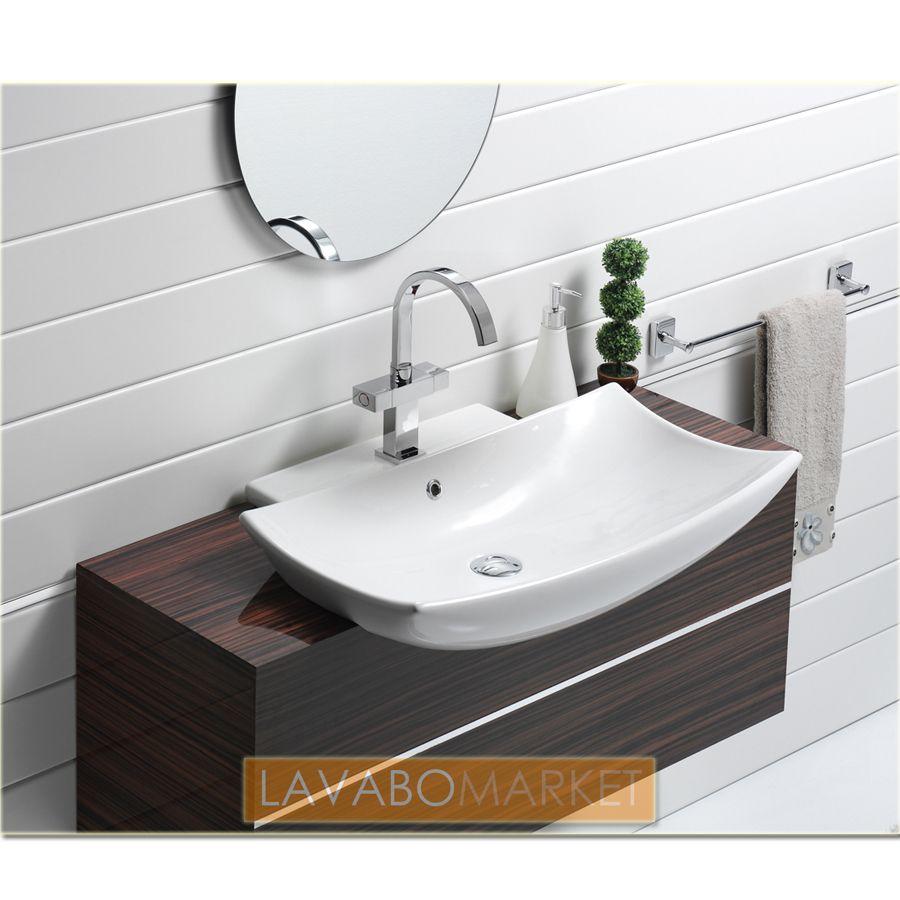 stunning-bella-b-70-cm-mini-lavabo-tasarimlari-3 Küçük Banyolar İçin Büyüleyici Mini Lavabo Tasarımları