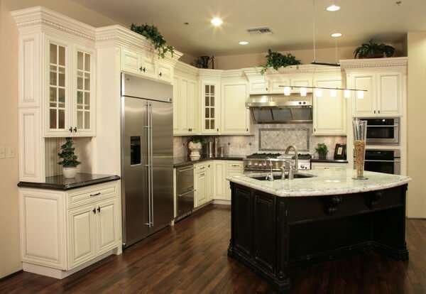 stunning-degisik-siyah-beyaz-mutfak-dekorasyonu-beyaz-mutfak-dekorasyonu-3 beyaz mutfak dekorasyonu