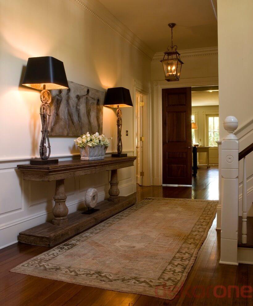 stunning-giris-dekorasyonu-9-evinizin-giris-holunu-dekore-etmek-17 Evinizin giriş holünü dekore etmek