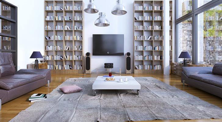 stylish-ev-kutuphane-dekorasyon-fikirleri-guzel-ve-sirin-bir-ev-dekorasyonu-icin-fikirler-14 Güzel ve şirin bir ev dekorasyonu için fikirler