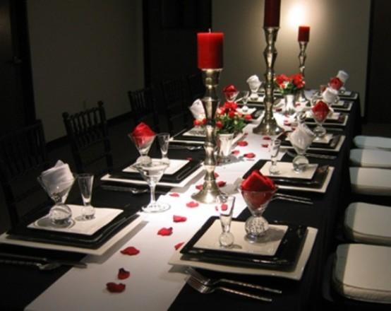 elegant-sevgililer-gunu-romantik-sevgililer-gunu-masa-dekor-ayarlari-15 Romantik sevgililer günü  masa dekor ayarları
