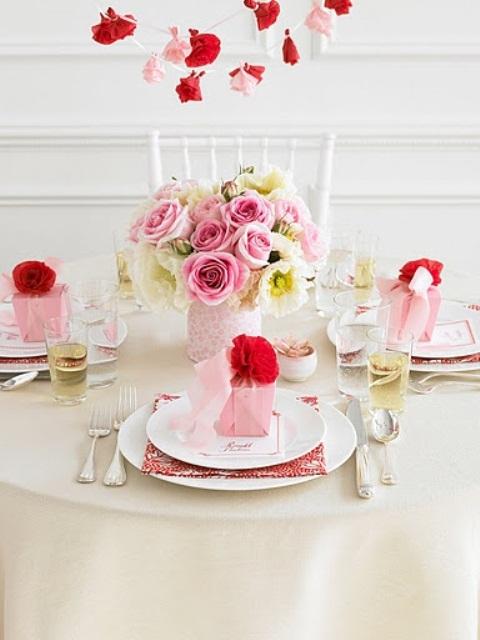 stylish-sevgililer-gunu-romantik-sevgililer-gunu-masa-dekor-ayarlari-16 Romantik sevgililer günü  masa dekor ayarları