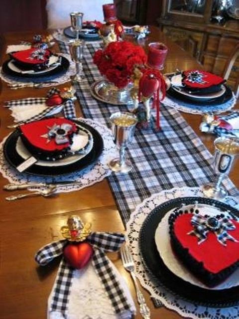 unique-sevgililer-gunu-romantik-sevgililer-gunu-masa-dekor-ayarlari-19 Romantik sevgililer günü  masa dekor ayarları