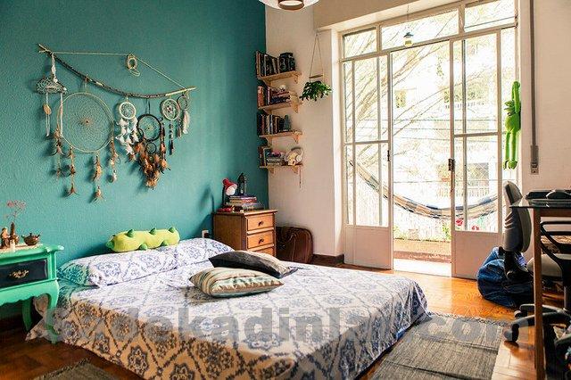 chic-huzurlu-yatak-odasi-dekorasyon-fikirleri-3 Huzurlu Yatak Odası Dekorasyon Fikirleri