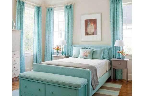 elegant-yatak-odanizin-dekorunda-renk-nasil-kullanilir-16 Yatak odanızın dekorunda renk nasıl kullanılır