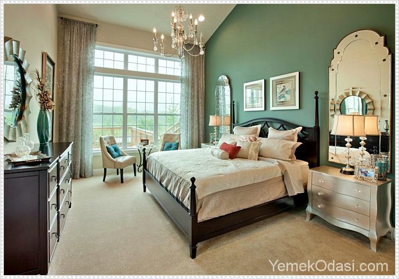 elegant-yatak-odanizin-dekorunda-renk-nasil-kullanilir-4 Yatak odanızın dekorunda renk nasıl kullanılır