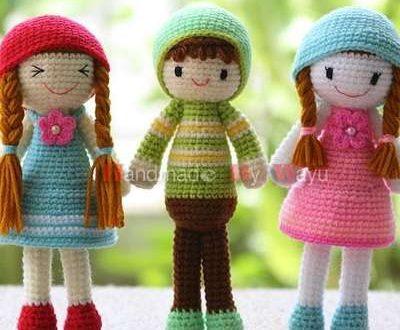 Amazing  En iyi Amigurumi Tığ işi Bebek Bebek Modelleri