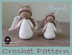 Beautiful  Amigurumi Crochet Angel Nacimiento Ücretsiz Desenler