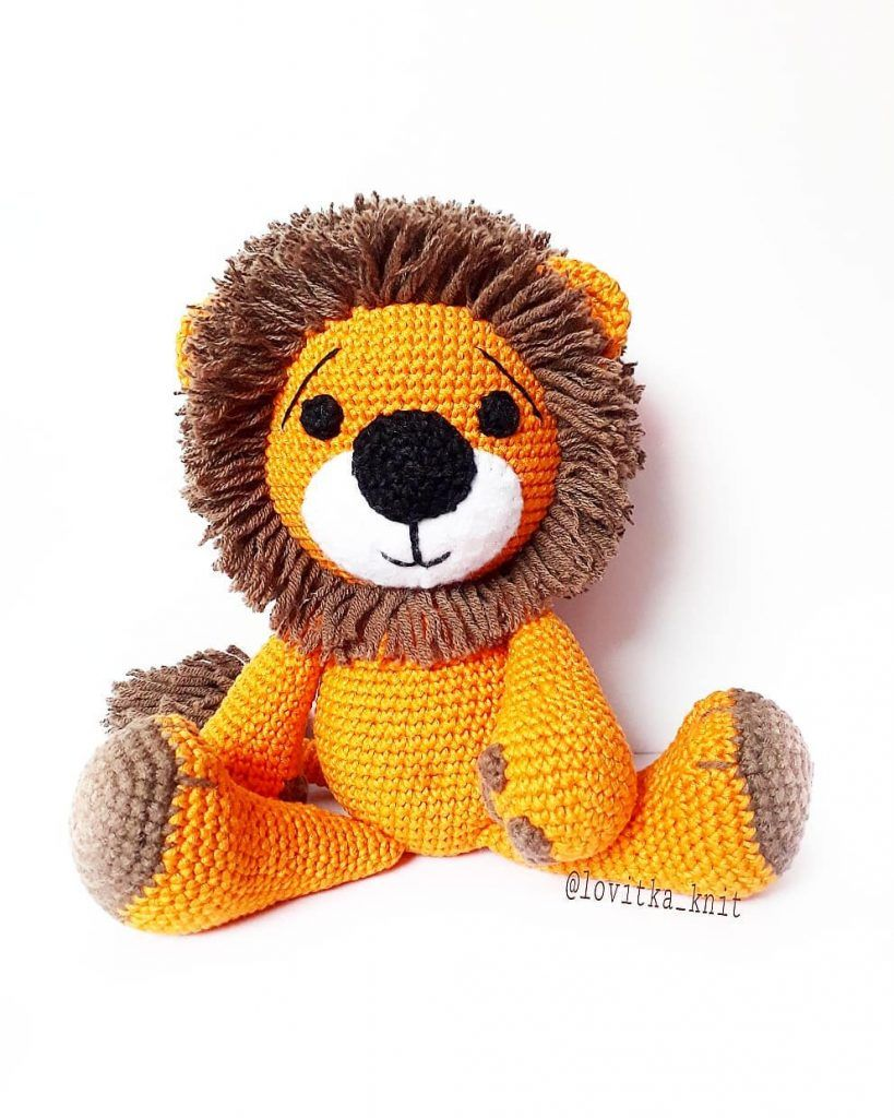 awesome-amigurumi-krose-aslan-ucretsiz-desen-5 Amigurumi kroşe aslan ücretsiz desen