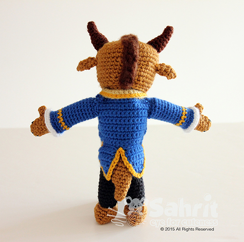 awesome-amigurumi-tig-canavar-ucretsiz-desen-2 Amigurumi Tığ Canavar Ücretsiz Desen