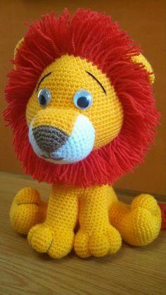 best-amigurumi-krose-aslan-ucretsiz-desen-20 Amigurumi kroşe aslan ücretsiz desen