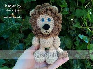 contemporary-amigurumi-krose-aslan-ucretsiz-desen-16 Amigurumi kroşe aslan ücretsiz desen