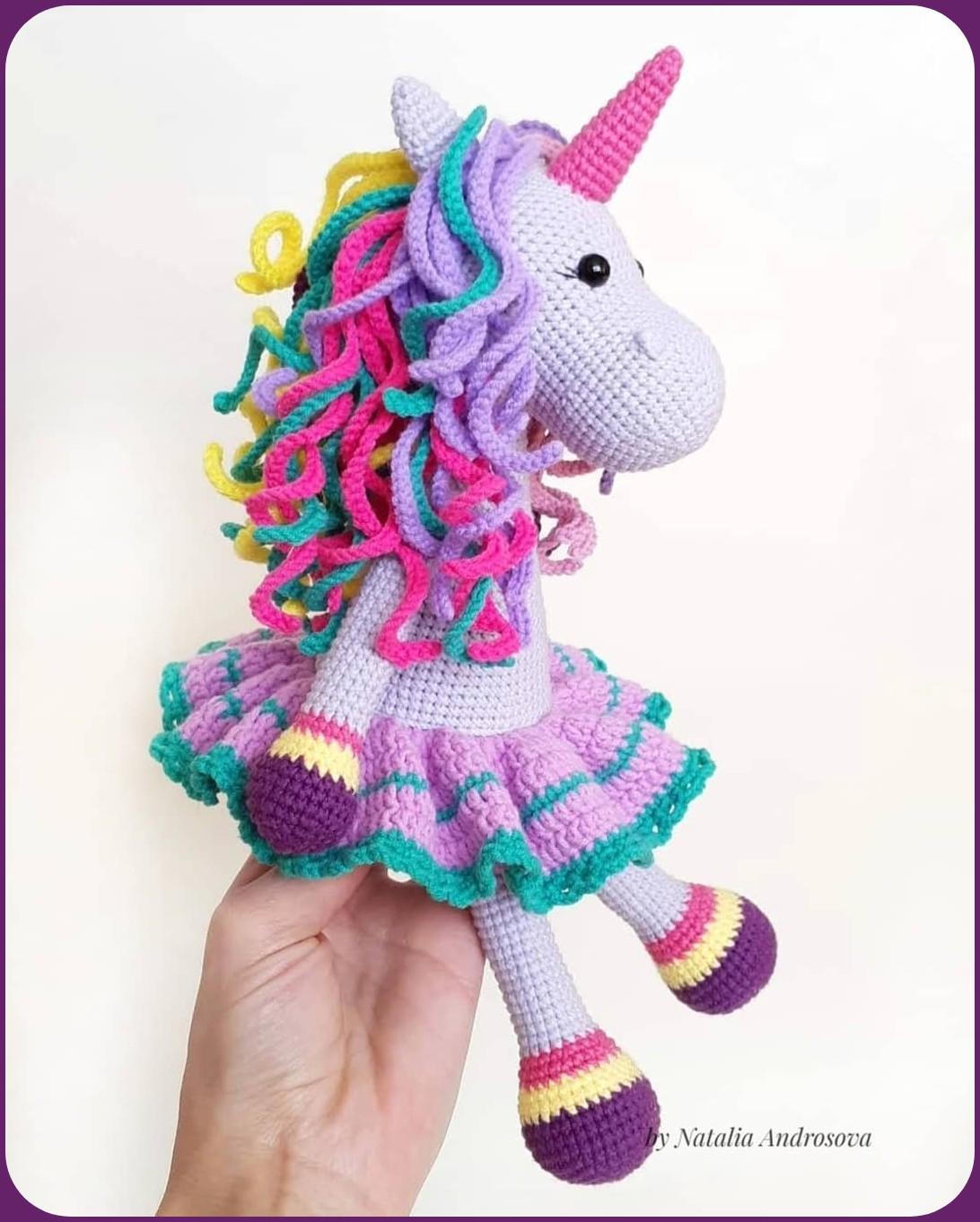 Kendi Kendine Yap | Unicorn Amigurumi Tarifi | 1362x1092