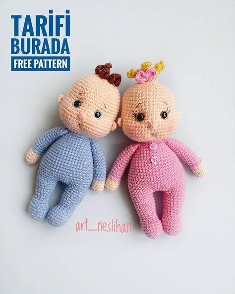 ideas-of-amigurumi-tig-isi-bebek-bebek-ucretsiz-desen-5 Amigurumi Tığ işi Bebek Bebek Ücretsiz Desen