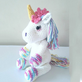 Amigurumi Unicorn yapımı ( boynuz kulak yele yapımı ve dikimi ... | 350x350