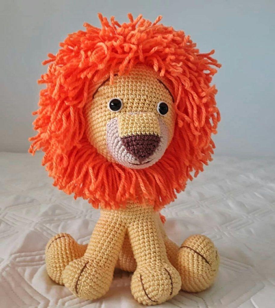 master-amigurumi-krose-aslan-ucretsiz-desen-2 Amigurumi kroşe aslan ücretsiz desen