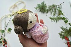 stunning-amigurumi-crochet-angel-nacimiento-ucretsiz-desenler-10 Amigurumi Crochet Angel Nacimiento Ücretsiz Desenler