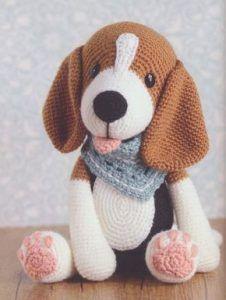 Popular  Temel köpek Amigurumi kroşe ücretsiz desen